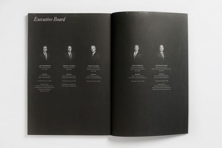 Annual Reviews, portraits by Photographer Morten Larsen