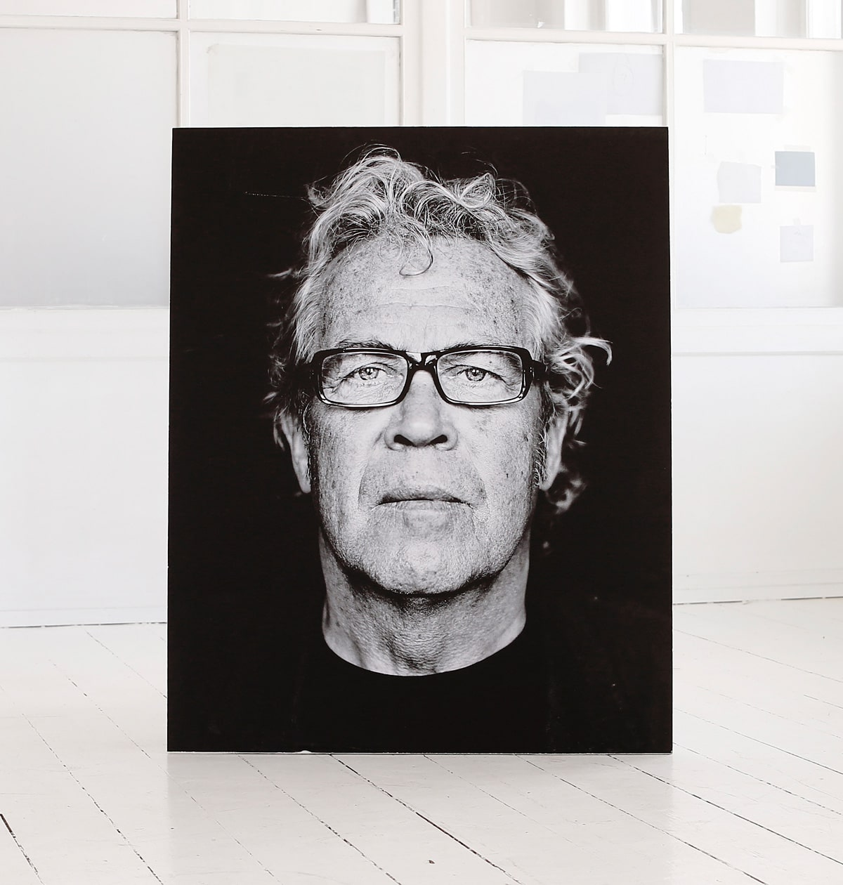 Jørgen Leth, Print, portrait by photographer Morten Larsen