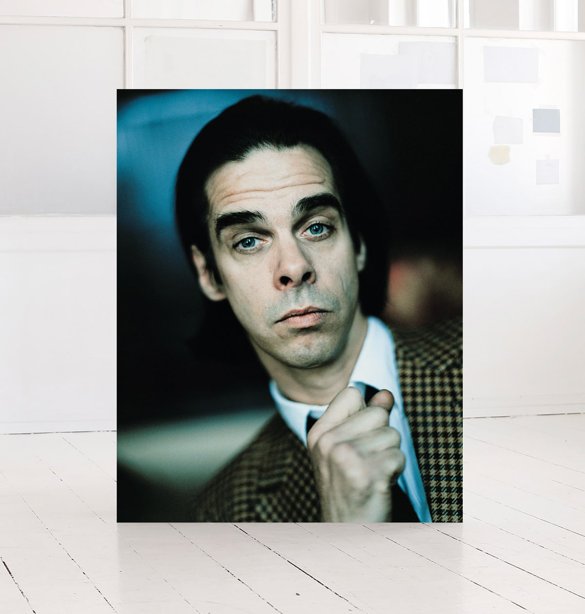 Nick Cave, print. By photographer Morten Larsen