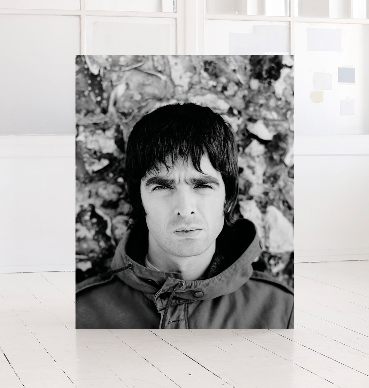 Noel Gallagher, print, by photographer morten larsen photographer
