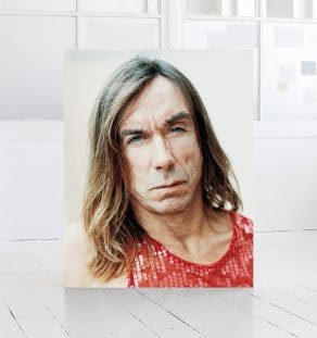 Iggy Pop, print, by photographer Morten Larsen
