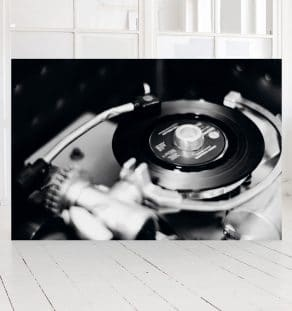 Record Player, Print. Photographer Morten Larsen